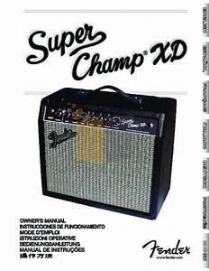 Download Free Pdf For Fender Super Champ