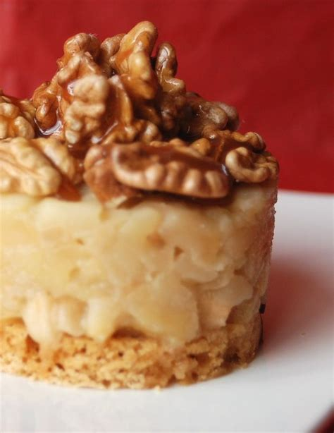 dessert avec du caramel