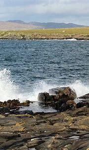 Portnoo Harbour Wave 2 Donegal Ireland Photograph by Eddie ...