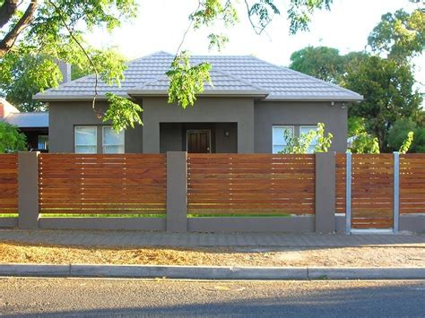 house front fence fences spaced interior design ideas photos and pictures for australian homes