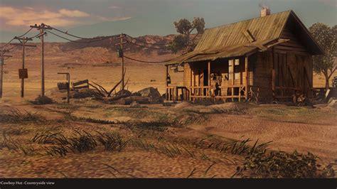 cabane de cowboy