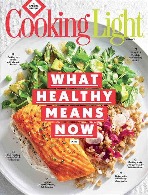 cooker magazine cooking light magazine celebrating 30 years by redefining healthy showcasing a new approach