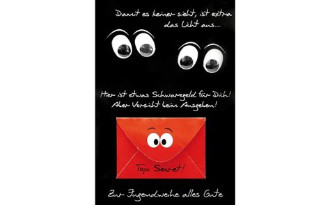 jugendweihe geldkarte glueckwunschkarte im format