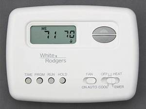 Emerson 70 Series Heat Pump Programmable Thermostat 1f72