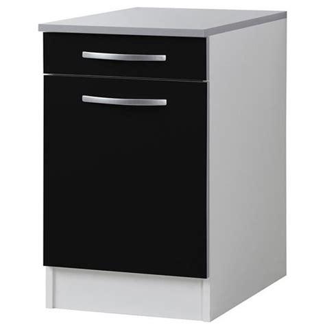 meuble bas cuisine 1 porte meuble bas de cuisine 1 porte 1 tiroir 40cm achat