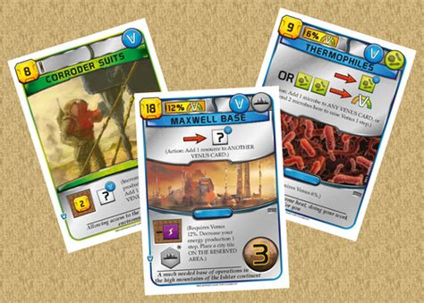 You can redeem this card at the checkout. Terraforming Mars: Venus Next   Across the Board Game Cafe