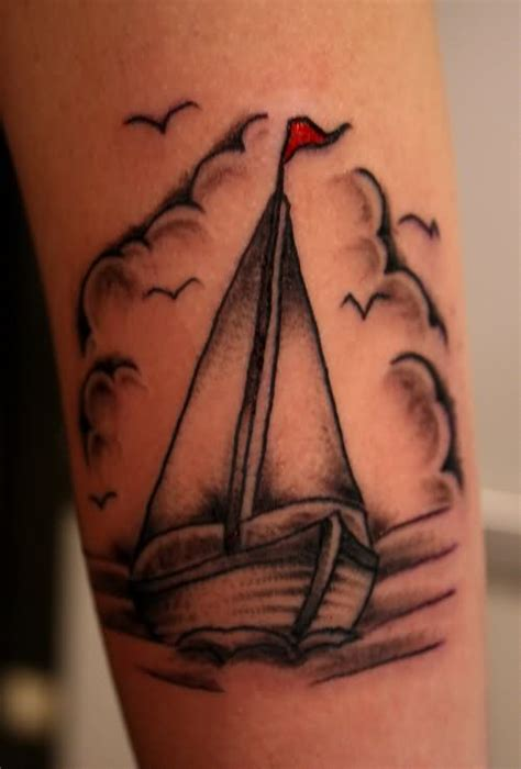 Boat Outline Tattoo by Sailboat Tattoo Outline Www Imgkid The Image Kid