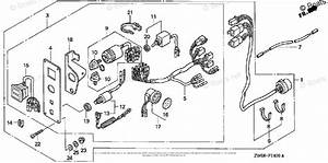 Honda Outboard Motor Parts Diagram