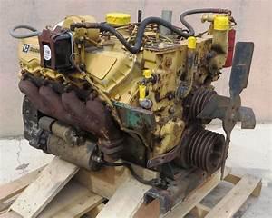 R  F  Engine Caterpillar Cat Ct 3208 Engine Good Running