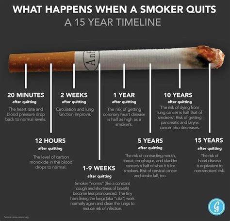 brain post     smoker quits   year
