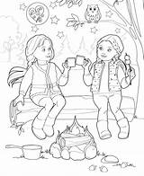 Coloring Pages Doll Dolls Books Og American Zoom Ourgeneration Club Generation Printable Sheets Camping Template Bmg sketch template