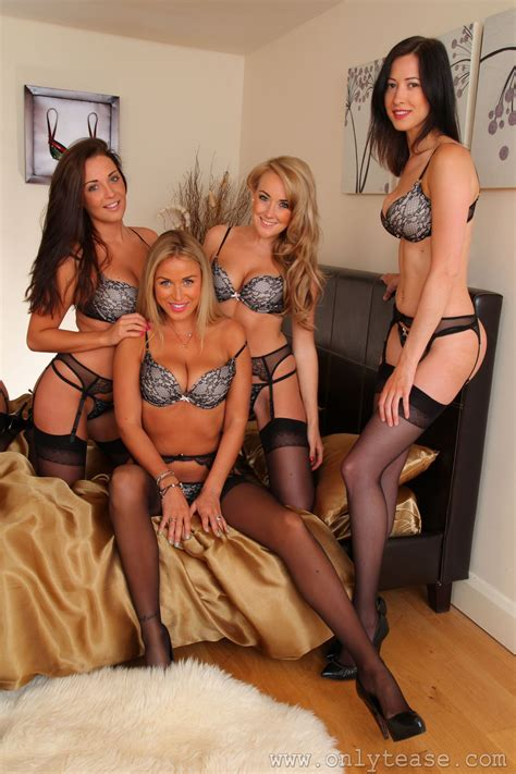 Onlytease Stockings Beauty 20121027 Melanie Naomi K Carole And Carla Gubazu Sexy Photos