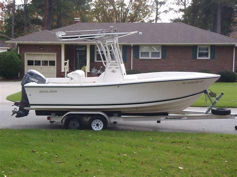 21 Foot Regulator Boats For Sale 2002 21 regulator with trailer 27k the hull