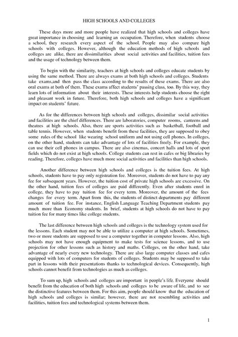 The Paper About Comparison And Contrast by Compare Contrast Essay Thesis