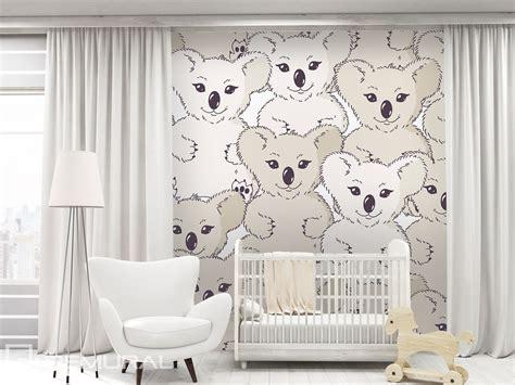 papier peint chambre enfants koala sur le mur papier peint pour la chambre d 39 enfant
