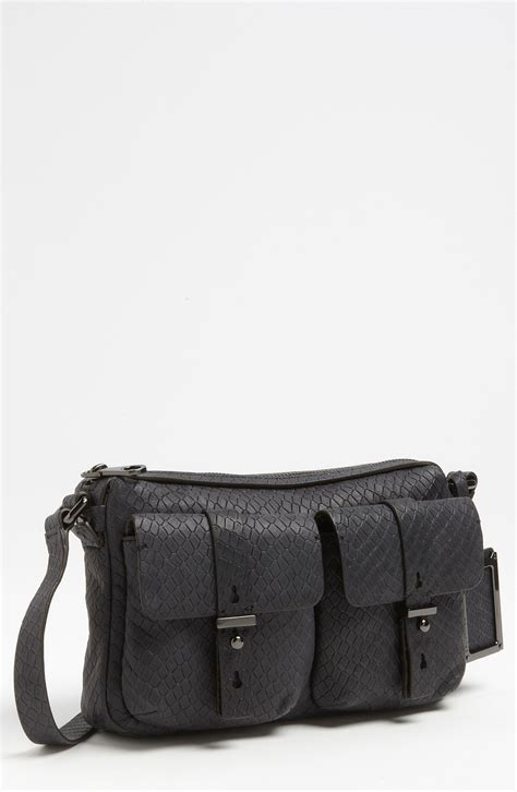 marc  marc jacobs werdie snake embossed camera bag