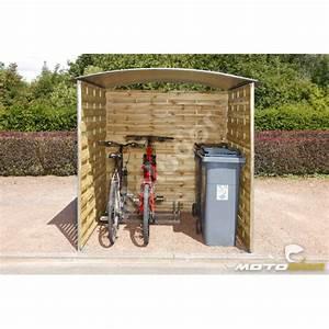 Abri Moto Bois : abri ext rieur pour motos et scooters 180x180x200cm motodor ~ Melissatoandfro.com Idées de Décoration