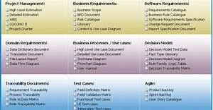 document automation within requirements development process With solution approach document template