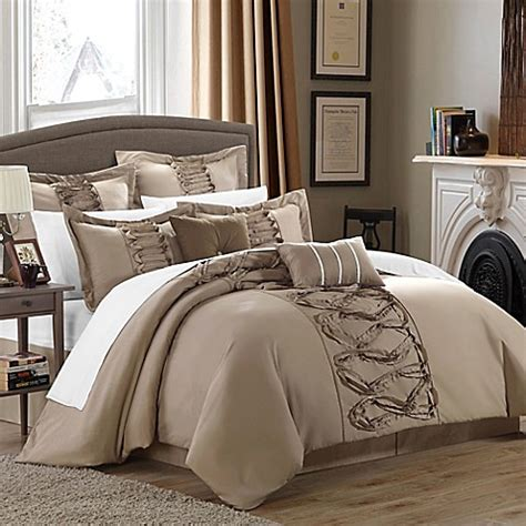 bed bath beyond comforter sets chic home rossana 8 comforter set bed bath beyond