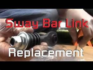 Right Rear Sway Bar Link Replacement