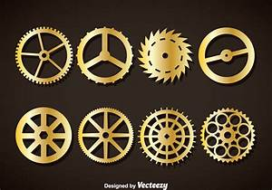 Clock Gears Free Vector Art