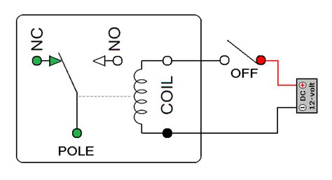 8 Pin Relay Configuration Diagram by Relay Pin Configuration Basic Circuit Circuit Diagram