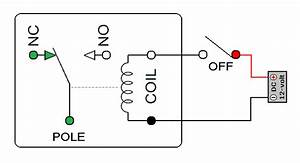 Relay Pin Configuration - Basic Circuit