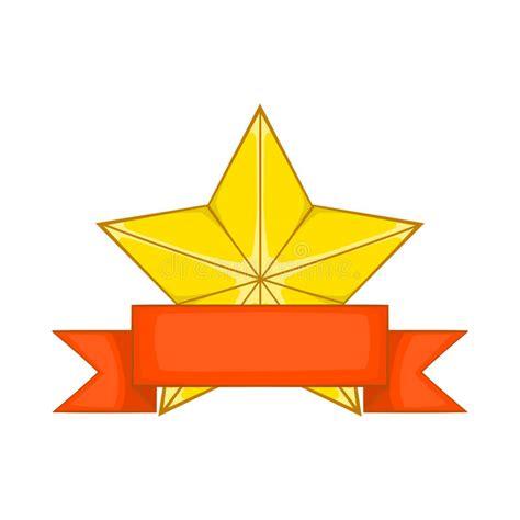 14764 award ribbon icon vector gold award with ribbon icon style stock