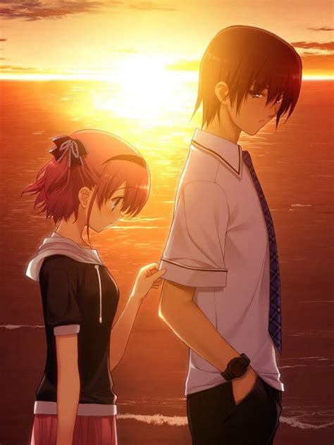 sad anime couple hd wallpaper mthemes
