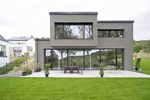 Moderne Hausfassaden Fotos : residence in mersch by massive passive hausfassaden architektur und moderne h user ~ Orissabook.com Haus und Dekorationen