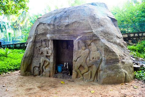 vizhinjam rock cut cave kerala picnic spots kerala