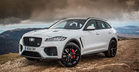 There isn't too much physique roll. 2019 Jaguar F-Pace SVR first drive review: A magnificent ...