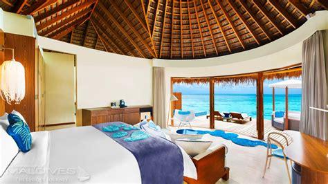 chambre sur pilotis maldives avis hôtel w retreat spa maldives hôtel de rêve des