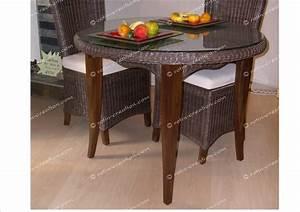 Dessus De Table En Verre : table jose dessus verre table incontournable en moelle ~ Dode.kayakingforconservation.com Idées de Décoration