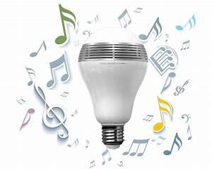 Lampe Mit Lautsprecher : led licht mit integriertem bluetooth lautsprecher ~ Eleganceandgraceweddings.com Haus und Dekorationen