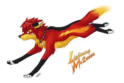 Lightning Wolf By Mistrel-fox On Deviantart