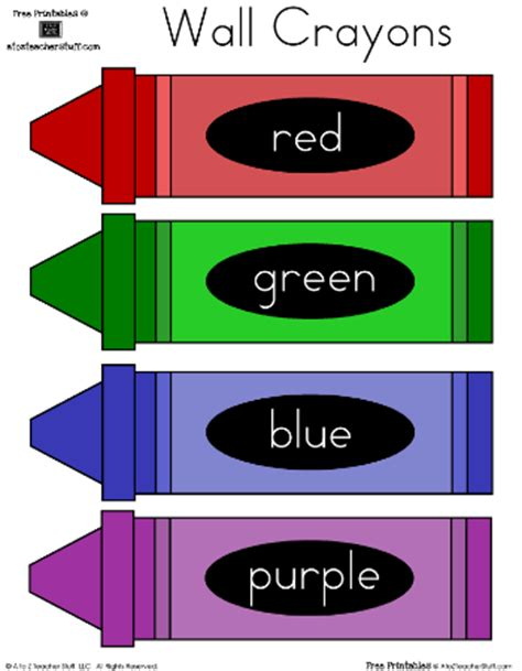 color labels crayon color clip with name cliparts