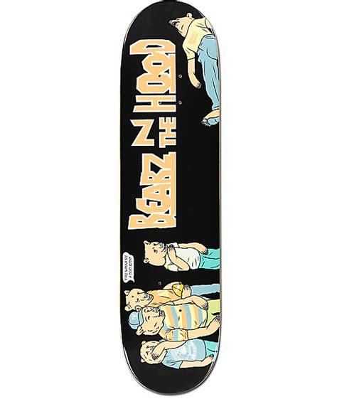 grizzly skate decks skate mental x grizzly bearz in da 8 0 quot skateboard