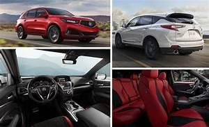 Acura Debuts New 2019 RDX And 2019 MDX A Spec SUVs At The NY Auto Show