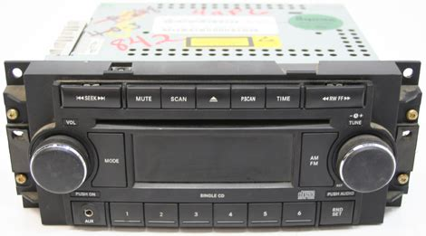 dodge charger factory amfm aux stereo cd player