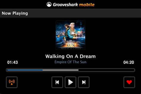 Grooveshark Mobile Free by Grooveshark Free Blackberry Mobile Downloads