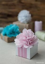 DIY Tissue Paper Pom Pom Flower