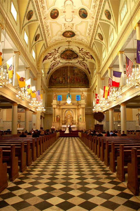 st louis cathedral wedding   orleans louisiana