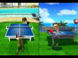 Wii Sports Resort - Table Tennis - YouTube  Table Tennis Sports