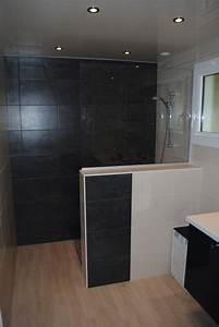 creation de salles de bains douche a l39 italienne et With salle de bains italienne