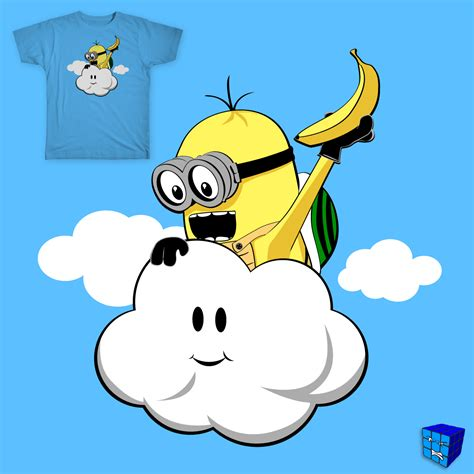 Score DESPICABLE LAKITU by daless25 on Threadless