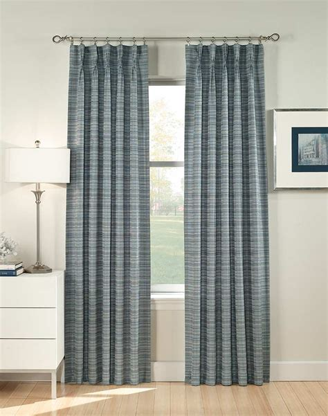 heritage pinch pleat curtain panel curtainworks