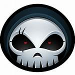 Reaper Grim Icon Skull Halloween Avatar Skeleton