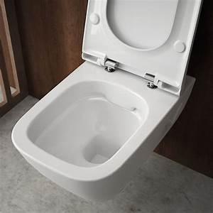 Wc Suspendu Sans Bride : wc sans bride rimfree par allia allia innove pour vous ~ Dailycaller-alerts.com Idées de Décoration