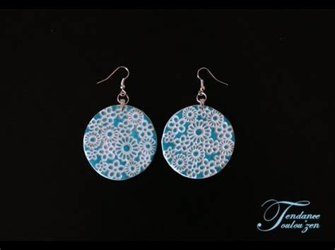 tuto pate fimo facile tuto boucles d oreilles fimo facile debutant polymer clay earrings tutorial for beginners